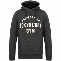 Tokyo Laundry Keskustie Brush Back Fleece Mens Pullover 1D11498 Jet Black