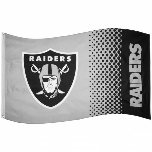 Drapeau de la NFL Oakland Raiders Fade Flag FLG53NFLFADEOR