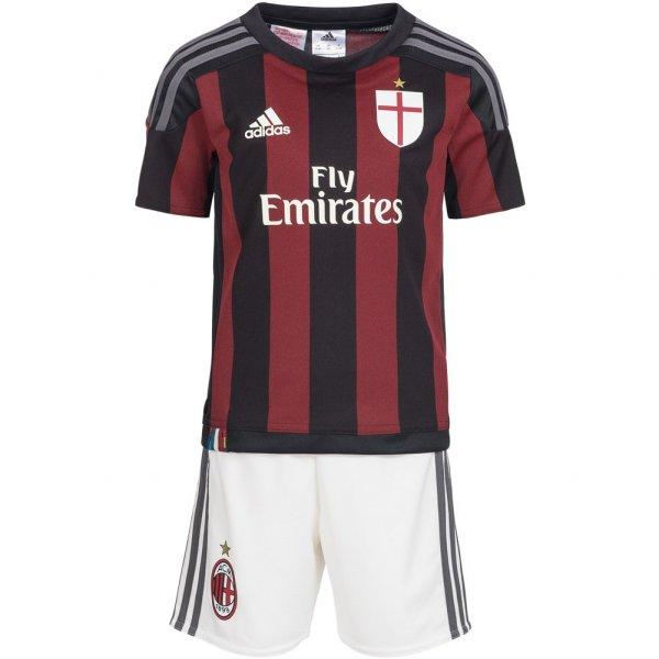 AC Mailand adidas Baby Kit Heim Trikot Set S11841