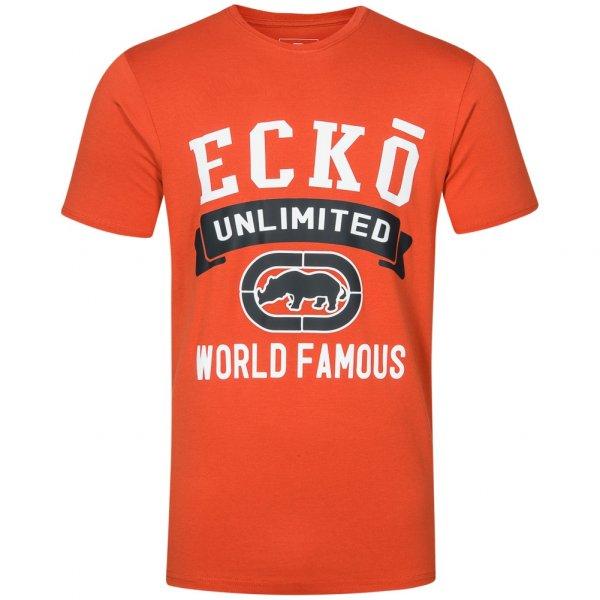 ECKO Unltd. Herren Goodyear T-Shirt burnt orange ESK4243