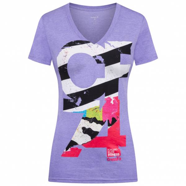 Reebok CrossFit Series Graphic T 10 Damen Fitness Shirt B87218