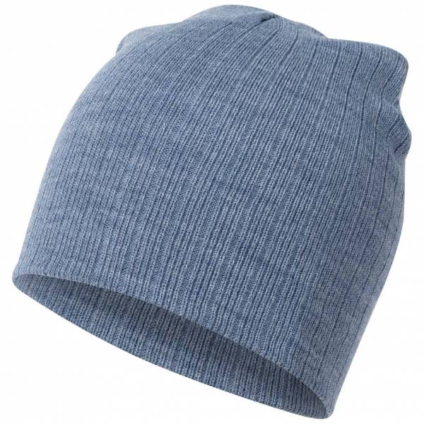 MSTRDS Fisherman Regular Knit Beanie 10057 Ht Indigo