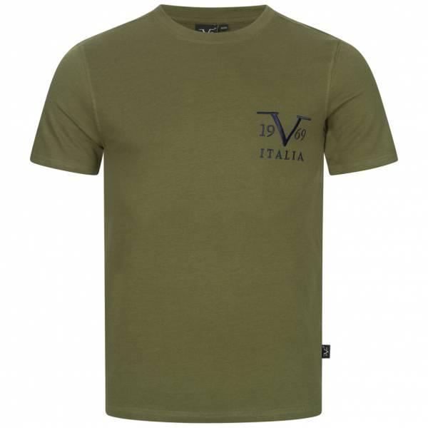 19V69 Versace 1969 Basic Big Logo Herren T-Shirt VI20SS0008B grün