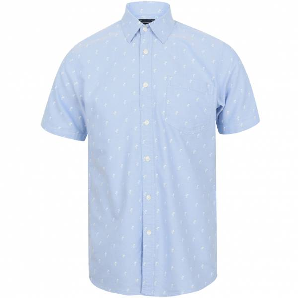Tokyo Laundry Stretton Hombre Camisa 1H12662 Oxford azul