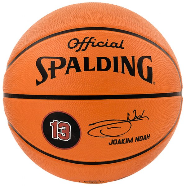 Spalding Player Ball Joakim Noah Basketball 3001586011517