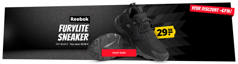 b9ddd2dc Reebok Reebok Furylite Sneaker only 29,99 € cheap online shopping at  SportSpar.com