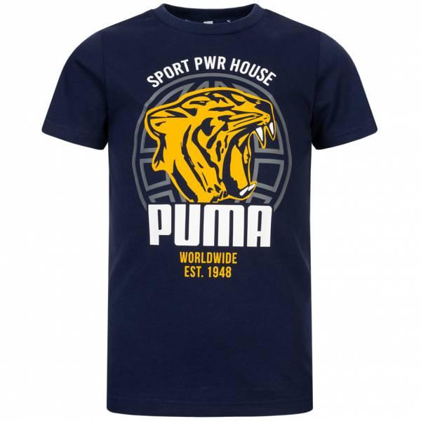 PUMA Alpha Graphic Kinder T-Shirt 580229-06