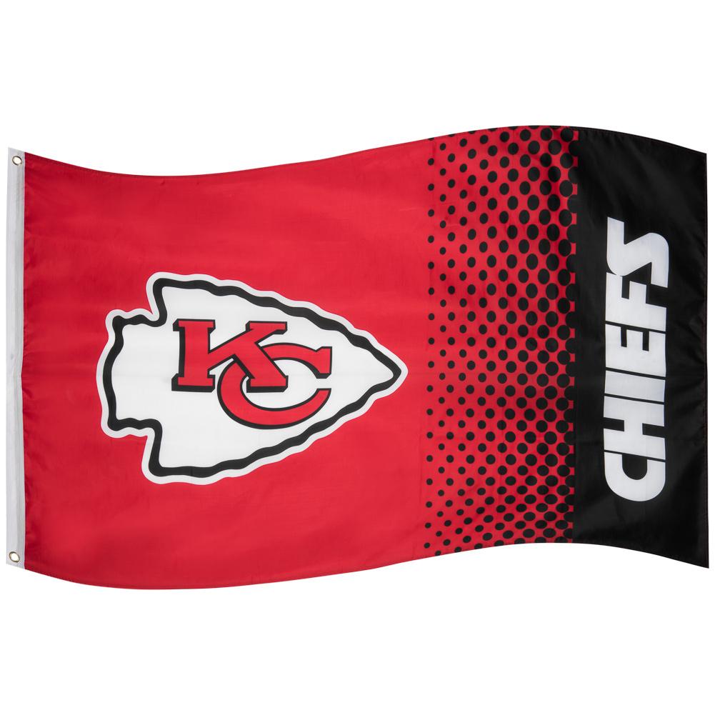 Chiefs de Kansas City NFL Drapeau Fade Flag FLG53NFLFADEKC