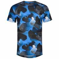 ASICS FuzeX Printed Running Shirt Herren Laufshirt 141240-1175