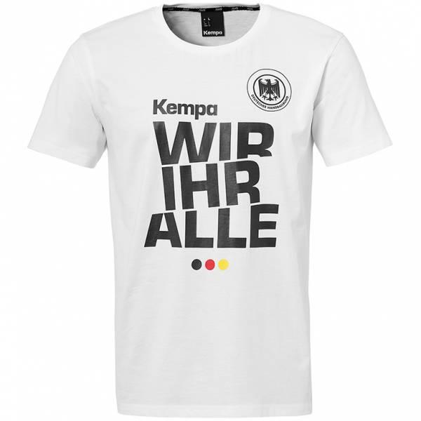 """DHB Deutschland Kempa """"Wir Ihr Alle"""" Fan T-shirt 2004000021630"""