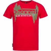 Sonneti Herren T-Shirt Atom Rot