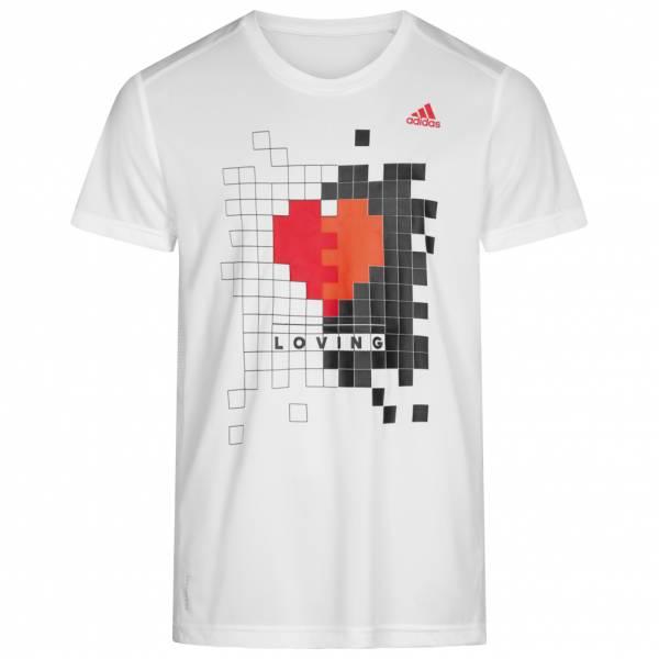 adidas Own The Run Valentine Herren Laufshirt FI0655