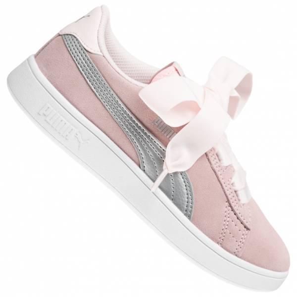PUMA Smash v2 Ribbon Mädchen Sneaker 366004-02