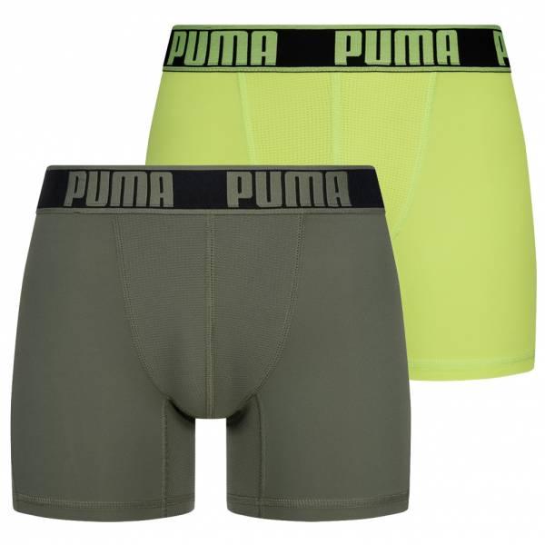 PUMA Active Mężczyźni 2 szt. Bokserki 671017001- 002