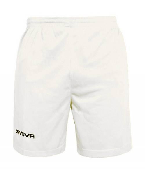 Givova Fussball Short Ibiza weiß
