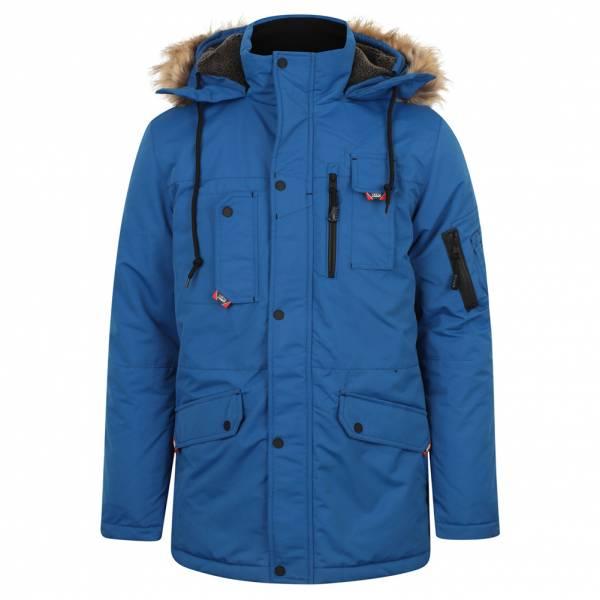Tokyo Laundry Nicklas Herren Parka Winterjacke 1J11337R Olympian Blue