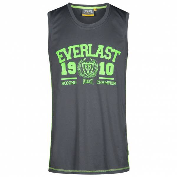 Everlast Herren Muscle Shirt Fitness Tank Top EVR0878 grau