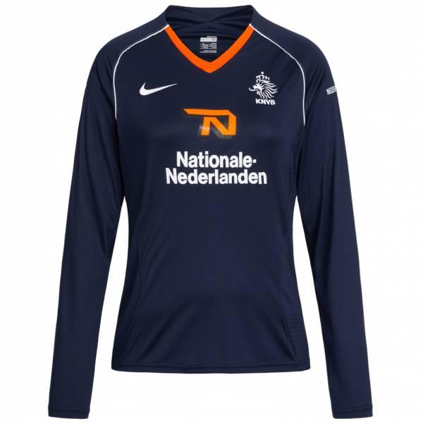 Niederlande Nike Damen Langarm Trainings Trikot 239622-451