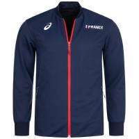 Frankreich ASICS  Leichtathletik Herren Trainings Jacke A17A52-52FR