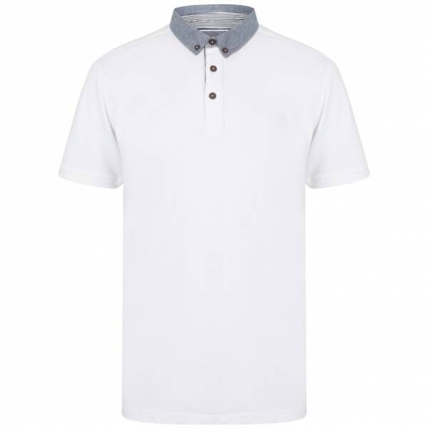 Kensington Union Herren Polo-Shirt 1X12569 Bright White