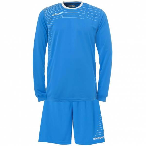 Uhlsport Match Fußball Set Langarm Trikot mit Shorts 100316210