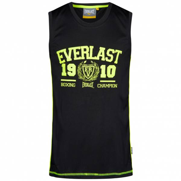 Everlast Heren Muscle Shirt Fitness Tanktop EVR0878 zwart
