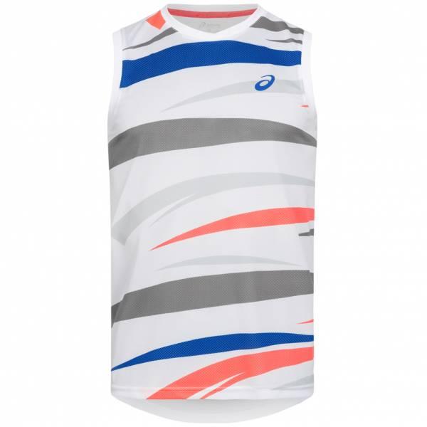 ASICS Graphic Herren Tennis Tank Top Shirt 110440-0001