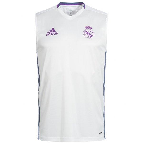 Real Madrid adidas Herren Training Trikot Muskel Shirt AO3122