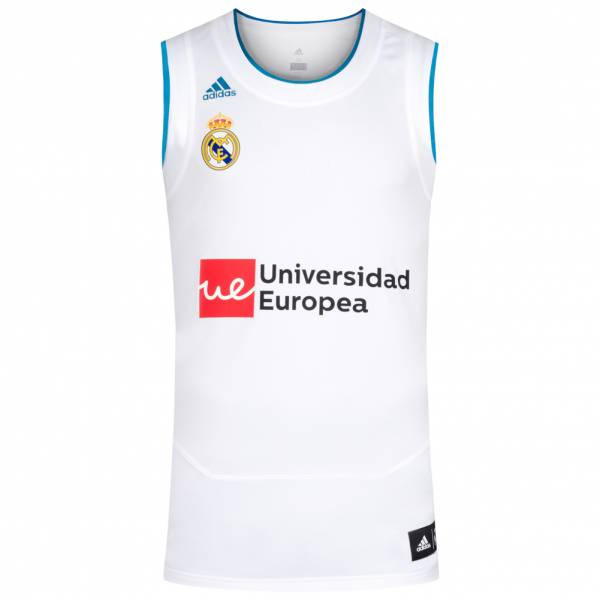 quality design c7925 c1e35 Real Madrid CF adidas Men Home Basketball Jersey CE5950