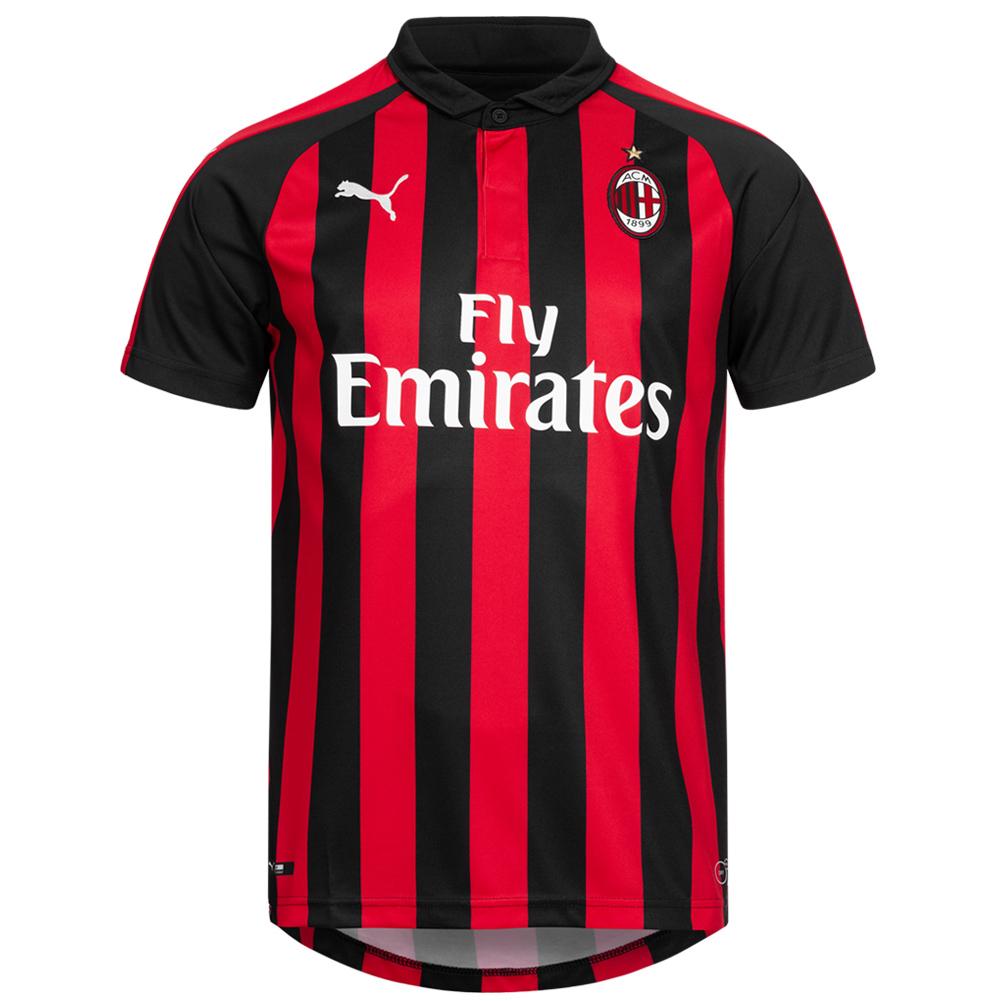 A.C. Milan PUMA Authentic evoKNIT player Maglia in casa 754750 06
