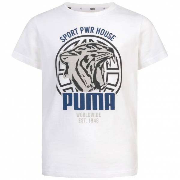 PUMA Alpha Graphic Jungen T-Shirt 580229-02