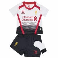 Liverpool FC Warrior Baby Mini Kit Auswärts Trikot Set WSTB309-WT