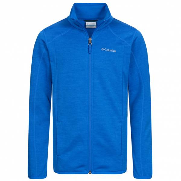 Columbia Wilderness Way ™ Niño Chaqueta de forro polar 1131043-Super-Azul