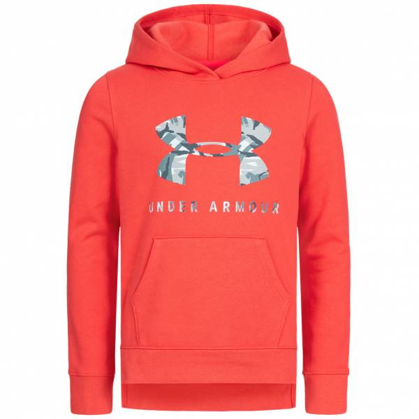 Under Armour Rival Logo Print Fille Sweat à capuche 1343622-843