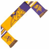 Bloques de colores de la NFL de los Minnesota Vikings Bufanda de aficionado SVNFCLRBLCKBLGMV