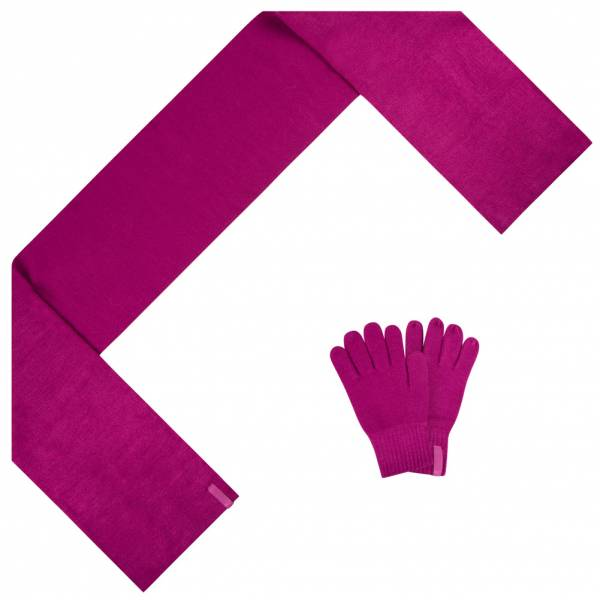PUMA Fundamentals Knit Scarf and Gloves Set 052355-03