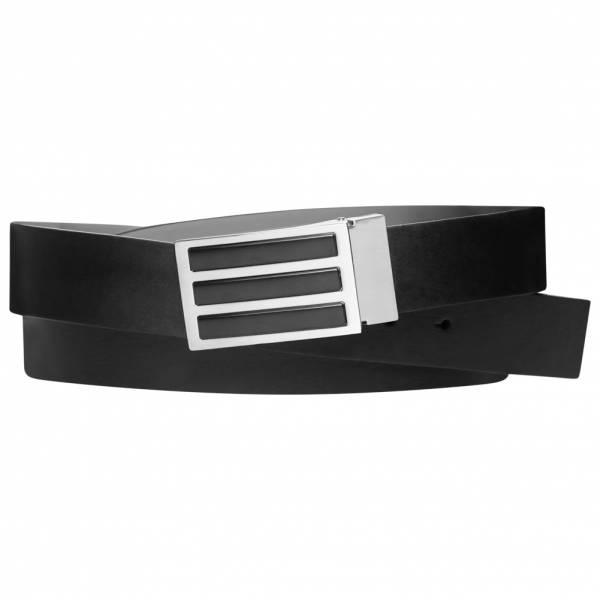 adidas Golf 3-Stripes Solid Reversible Belt CZ1475