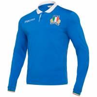 Italien FIR macron Herren Heim Langarm Trikot 58097806