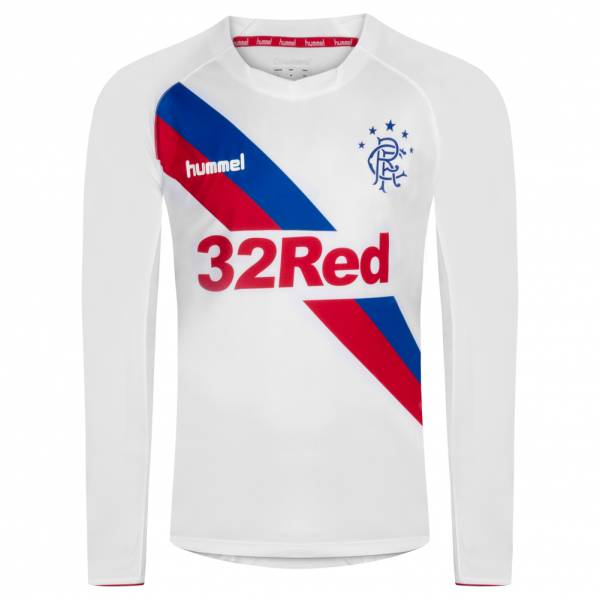 Glasgow Rangers hummel Langarm Auswärts Trikot GLAADTALS18