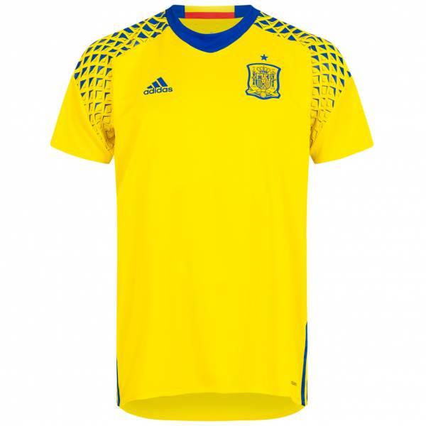 Spanien adidas Herren Auswärts Torwart Trikot Player Issue AA0779