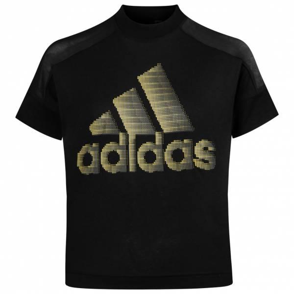 adidas ID Glam Damen Croptop T-Shirt DZ8675