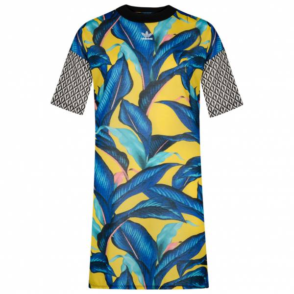 adidas Originals x The Farm Damen Boyfreind Shirt Kleid DH3057