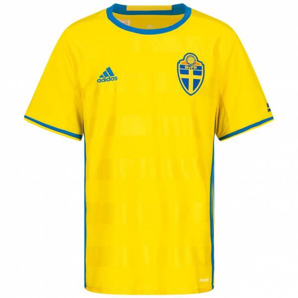 Schweden adidas Kinder Heim Trikot AA0447