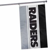 Oakland Raiders NFL horizontale Fan Flagge 1,52m x 0,92m FLGNFHRZTLOR