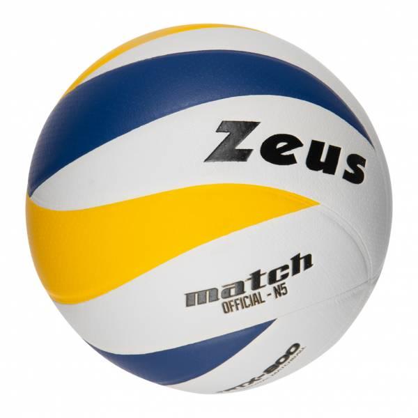 Zeus Match Volleyball Weiß Blau