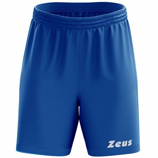 Zeus Mida Short d'entraînement bleu