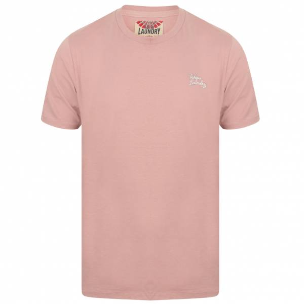 Tokyo Laundry Montecarlo Crewneck Uomo T-shirt 1C10912R Rosa scuro