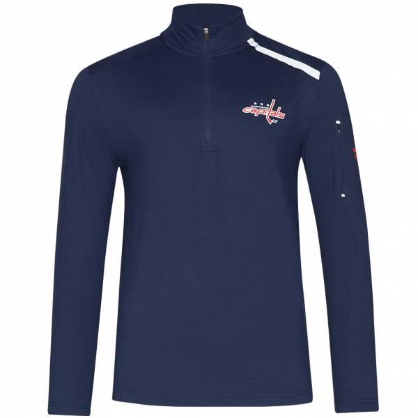 Washington Capitals Fanatics 1/4-Zip Herren Trainings Sweatshirt MA2745062GA45U