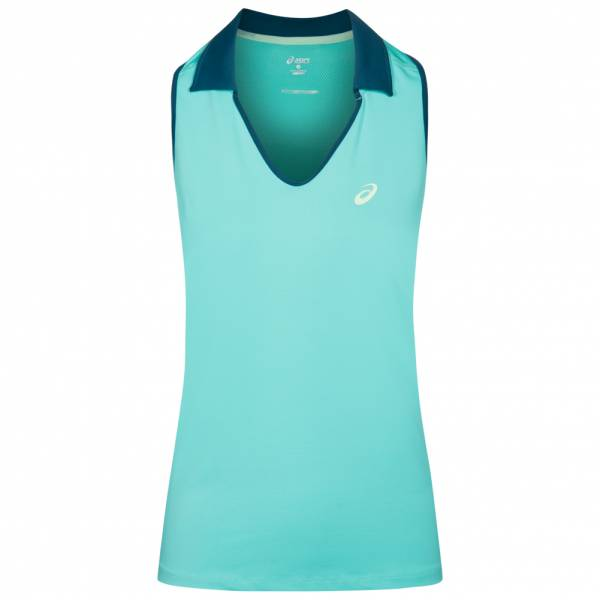 ASICS Sleeveless Polo Dames Tennis Shirt 132409-8136