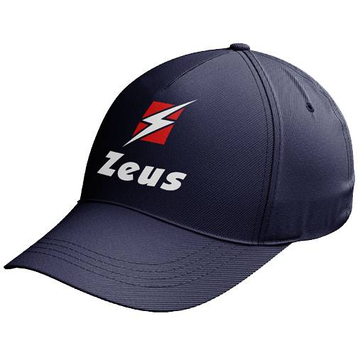 Zeus Promo Logo Cap blau